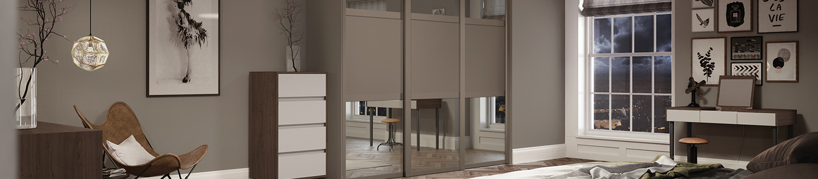 Made-to-Measure Sliding Wardrobe Doors | B&Q on